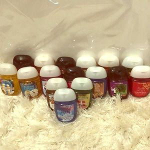 Other - Holiday Bath & Body Works hand sanitizers.